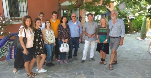 Agentes de viajes especializados en reuniones y congresos visitan la Costa