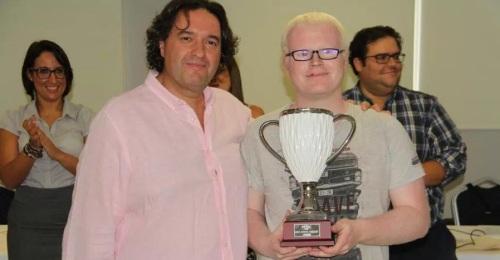 Alejandro Martínez Colomar campeón del XIX Torneo Open Nacional de Ajedrez para Ciegos celebrado en Almuñécar