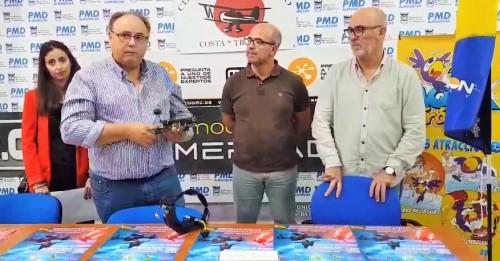 Almuñécar acoge los campeonatos de España y Andalucía de multirotores