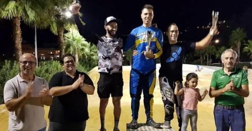Almuñécar coronó a los mejores pilotos en la Copa Andalucía BMX