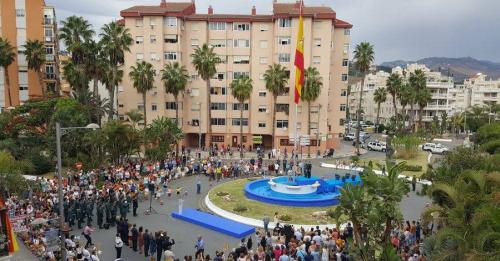 Almuñécar rindió homenaje a la Guardia Civil por el día de su Patrona