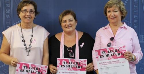 Ayto. de Motril y AECC organizan diferentes actividades con motivo del Día Mundial Contra el Cáncer de Mama
