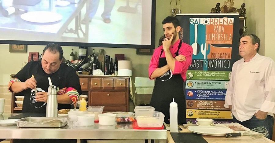 Chefs de Salobreña imparten talleres con la chirimoya como protagonista