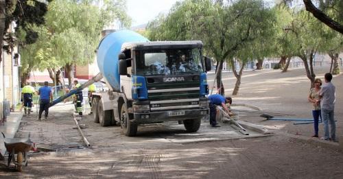 El Ayuntamiento mejora la accesibilidad del patio trasero del Colegio de Educación Infantil y Primaria Reina Fabiola