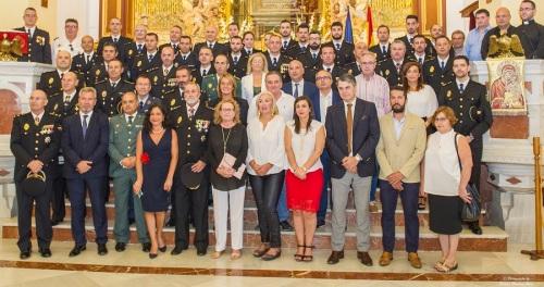 El Cuerpo Nacional de Policía de Motril celebra los Santos Ángeles Custodios reconociendo el trabajo de sus agentes