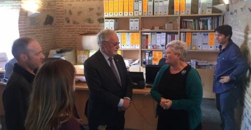 El Defensor del Pueblo Andaluz visita Órgiva