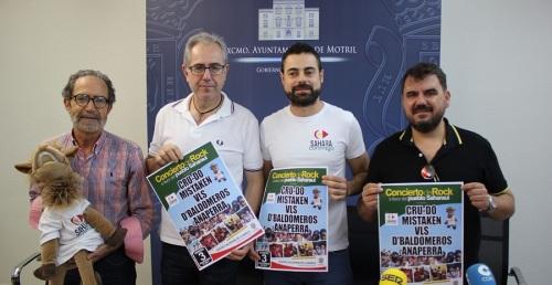 El rock motrileño tiene una cita solidaria en el Teatro Calderón con la Asociación Sahara Contigo