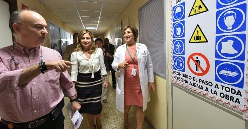 En enero, en el Virgen de las Nieves, nuevo Hospital de Día Oncohematológico y Unidad de Hemodiálisis