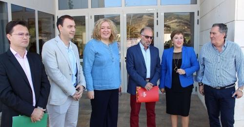 Flor Almón y Antonio Escámez lamentan la actitud desleal del PP respecto a los presupuestos de la Junta