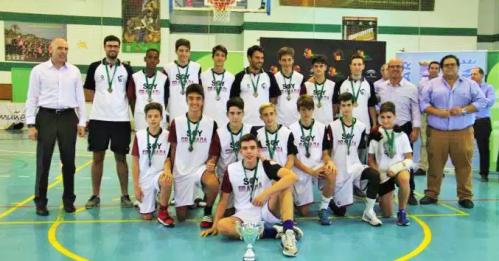 Granada campeona de Andalucía de Baloncesto de Selecciones Provinciales Infantil Masculino