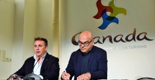 Granada y Jaén se promocionan en Manchester para consolidar la nueva conexión aérea