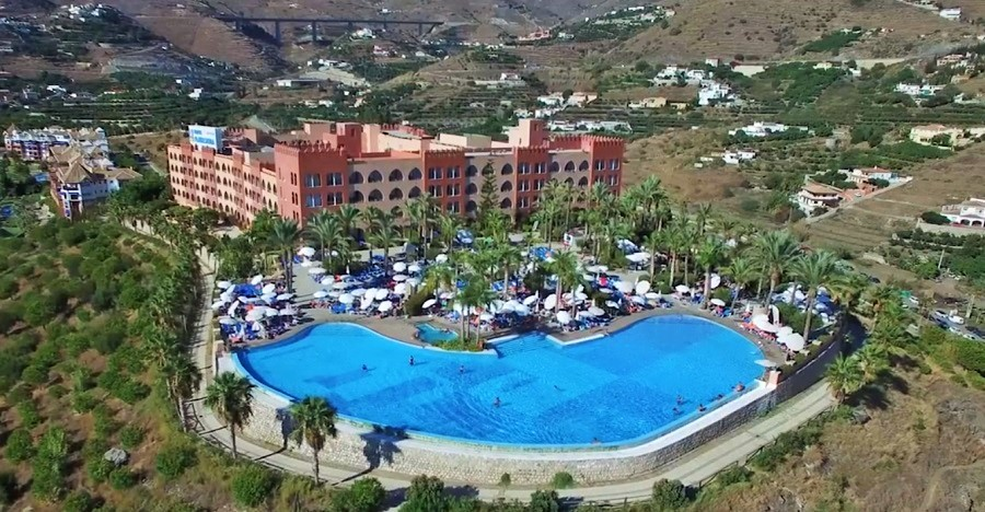 Hotel Playa Cálida en Almuñécar