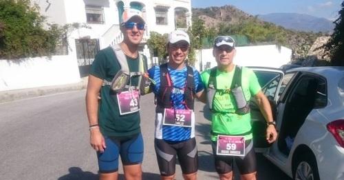 Juanjo Rivas y Miguel Barroso_Los Chicos del Maíz en el Trail de los Guájares 2017
