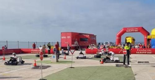 La 'Caravana de Educación Vial de Fundación Mapfre' llega a Almuñécar