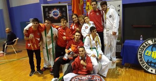 Los taekwondistas del KGM de Motril brillaron en la Copa de España