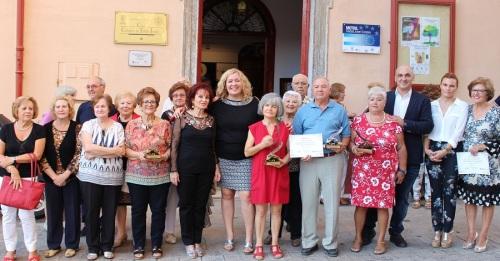 Motril_Foto de familia de los premiados en el XIV Certamen de Poesía y Relato Salvado Varo