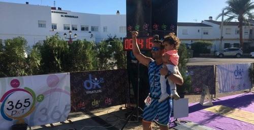 Participación del Club Atletismo Sexitano en laII edición del Triatlón Sierra Norte de Sevilla