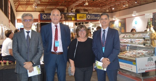 Relevantes empresas distribuidoras se interesan por los productos de la marca Sabor Granada en Fermasa