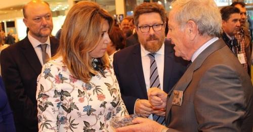 Susana Díaz destaca el liderazgo en mercados internacionales de las frutas y hortalizas de Andalucía