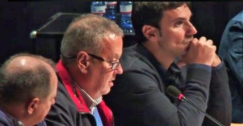 Almuñécar_Juan Carlos Benavides en un pleno