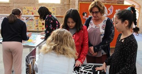 Alumnos del colegio Nuestra Señora del Pilar participan en la actividad titulada 'Iniciación al mundo de la Historieta_
