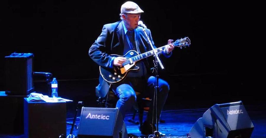 Concierto de blues y jazz de Bill O´Haire este miércoles en Almuñécar