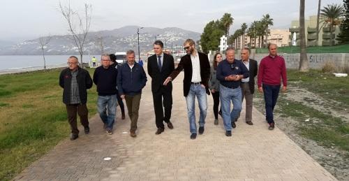 Concluyen las obras de remodelación del Paseo de Salobreña con una inversión del Gobierno Central de 800.000 euros
