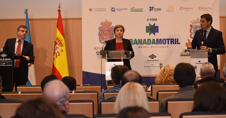 Diputación destaca la importancia del Foro Granada-Motril para impulsar el desarrollo económico provincial