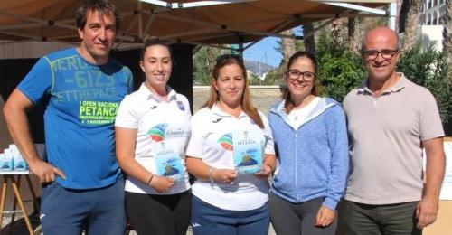 El Club Intl. de Almuñécar sumó cuatro podios en el I Open Nacional de Petanca