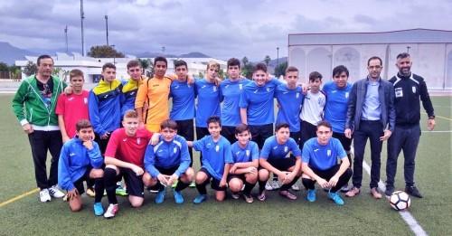 El equipo cadete del CD Atlético Salobreña recibe el 'brazalete verde' al comportamiento deportivo