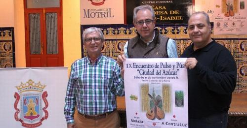 El IX Encuentro de Pulso y Púa Ciudad del Azúcar reúne este sábado en el Teatro Calderón a Melaza y A Contraluz