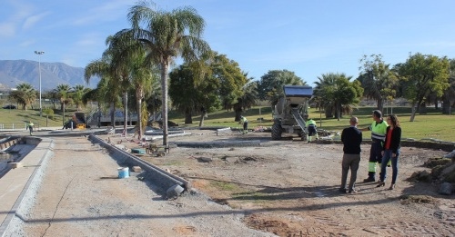 El Parque de Las Provincias se renueva gracias a una intervención del PFEA del 2017 presupuestada en 175.000 euros