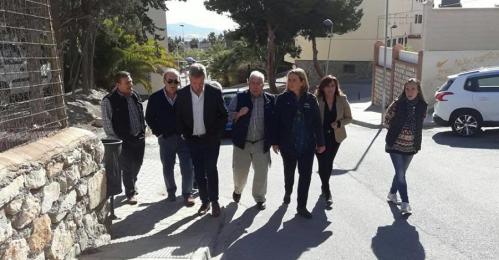 El PP visita el barrio de Aviación y pide mejoras
