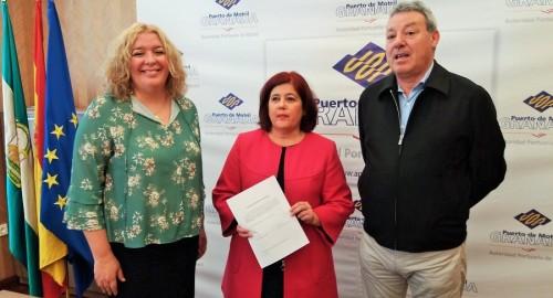 """El PSOE pide al Gobierno que estudie la """"mejor fórmula"""" para la conexión ferroviaria del Puerto de Motril"""
