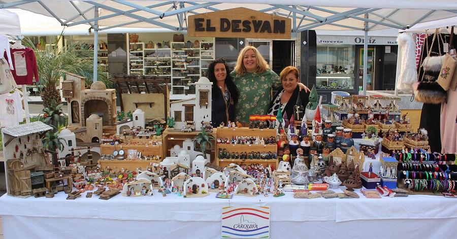 """La alcaldesa destaca cómo Carquifa """"da a conocer los productos artesanales que se elaboran en Motril y comarca"""""""