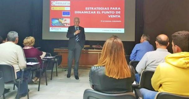 La Cámara de Comercio de Granada presentó en Almuñécar el Plan de Dinamización de Comercio Minorista