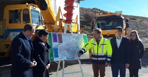 La Junta activa el plan para garantizar la circulación en carreteras en caso de nevadas y heladas con 500 técnicos y 230 máquinas