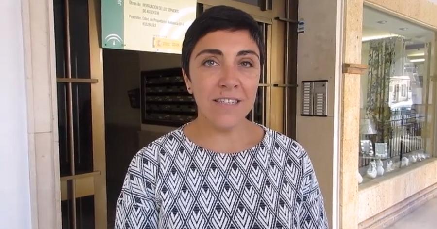 Mariela Fernández-Bermejo, delegada territorial de Fomento y Vivienda de la Junta en Granada