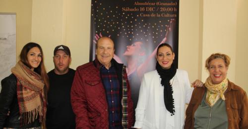 Marina Heredia dará el 16 de diciembre el Concierto de Navidad en Almuñécar