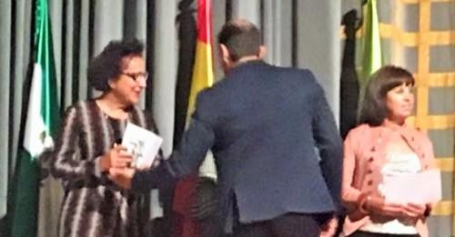Mª Ángeles Almirón galardonada en la gala de clausura del Gran Premio de Fondo Diputación de Granada