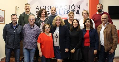 Nueva Comisión Ejecutiva del PSOE motrileño encabezada por Flor Almón