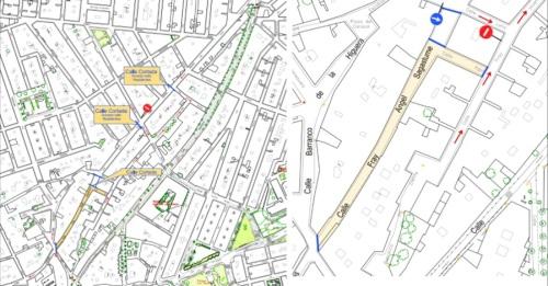 Obras en la calle Fray Ángel Sagastumen obligan a cortar el tráfico en la vía a partir del jueves, 16 de noviembre