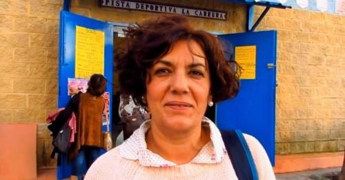 Toñi Salinas, presidenta de la Asociación de Vecinos del barrio de La Carrera_Almuñécar