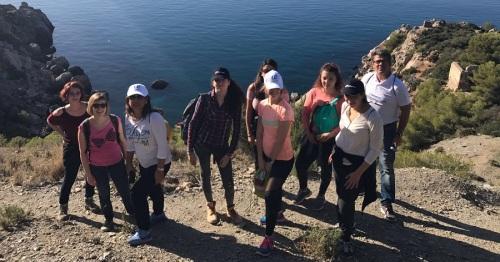 Un grupo de agentes de viajes de Francia visita este fin de semana la Costa Tropical