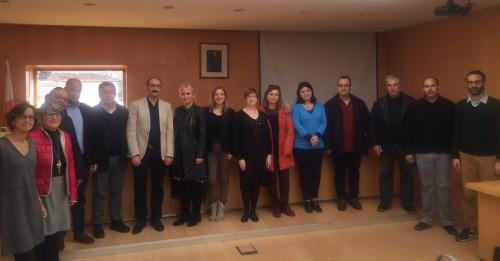 Un grupo de profesores de seis países que coordinan un proyecto Erasmus conocen Órgiva