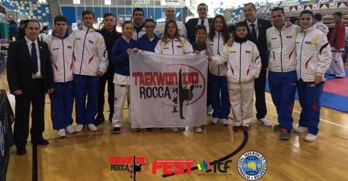 21 medallas para los deportistas del club Taekwon-do Rocca en la Copa de España