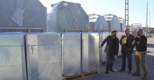 52 nuevos contenedores bilaterales de superficie para mejorar el servicio de recogida de residuos urbanos en Motril