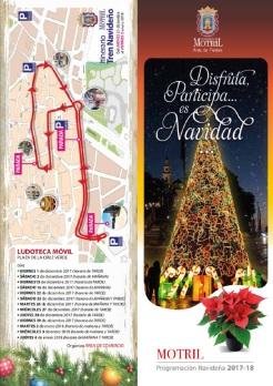 Actividades Navidad Motril 2017