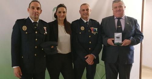 Agentes de la Policía Local de Motril reconocidos con la Orden al Mérito de la Policía Local de Andalucía