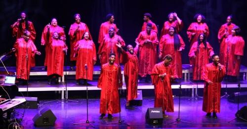 Alabama Góspel Choir ofreció un bello concierto en la Casa de la Cultura